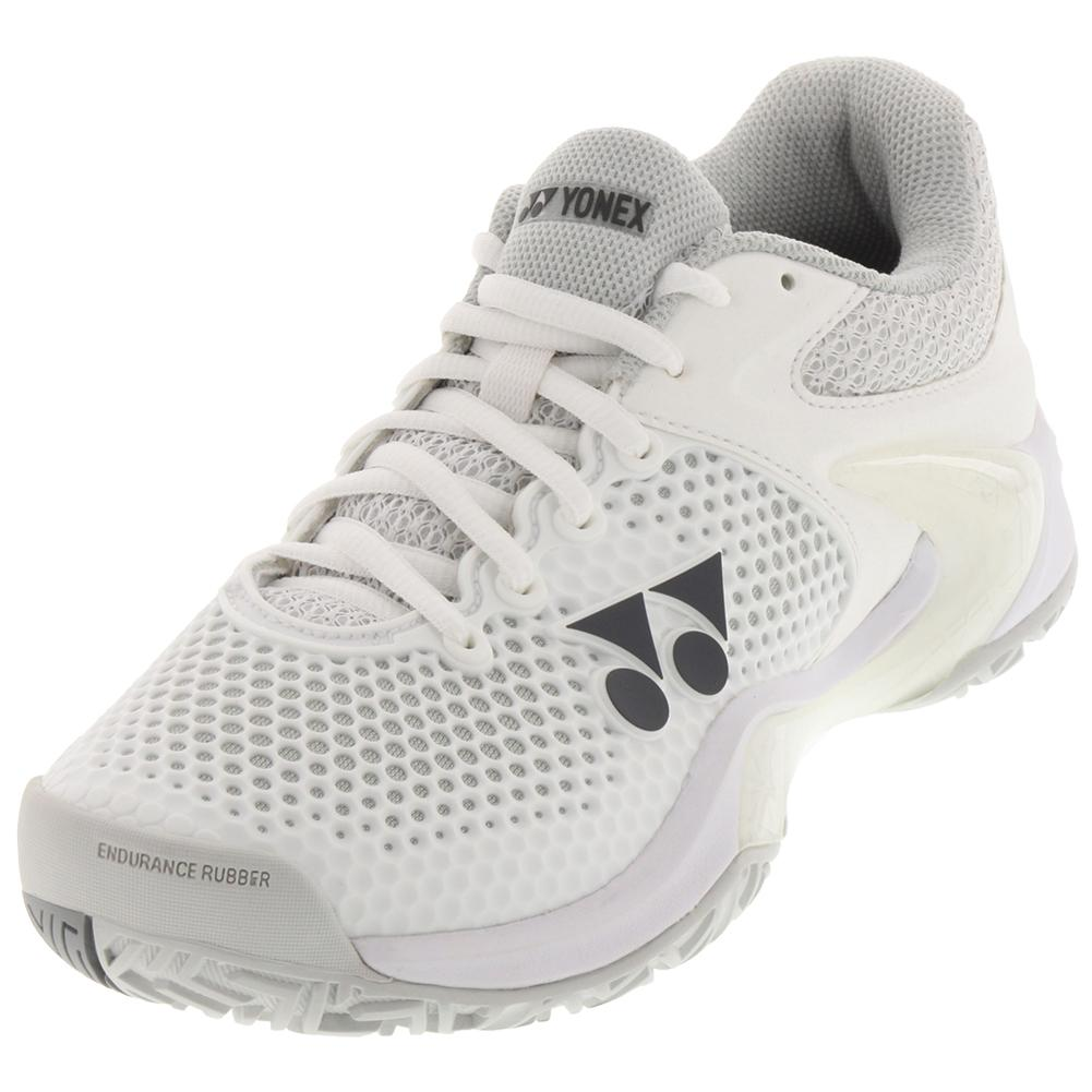 Women's Power Cushion Eclipsion 2 Tennis Shoes White And Silver
