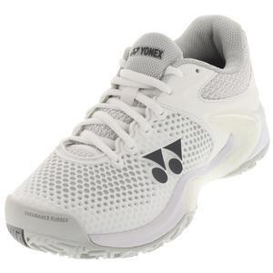 Women`s Power Cushion Eclipsion 2 Tennis Shoes White and Silver