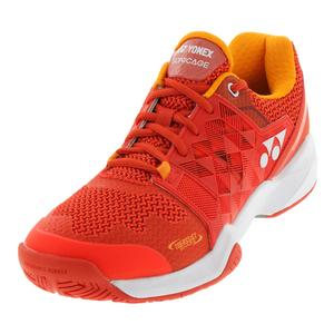 Men`s Power Cushion Sonicage Tennis Shoes Orange