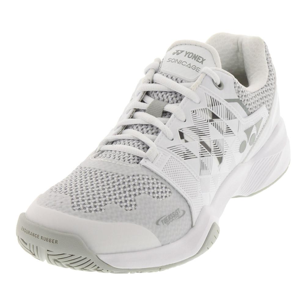 Women's Power Cushion Sonicage Tennis Shoes White