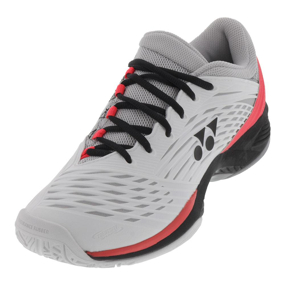 Men's Power Cushion Fusionrev 2 Tennis Shoes White And Black
