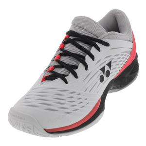 Men`s Power Cushion Fusionrev 2 Tennis Shoes White and Black
