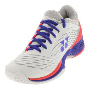 Women`s Power Cushion Fusionrev 2 Tennis Shoes White and Purple