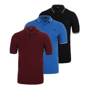 Men`s Twin Tipped Tennis Polo