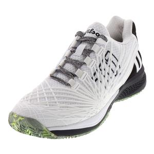 Men`s Kaos 2.0 Tennis Shoes White and Black