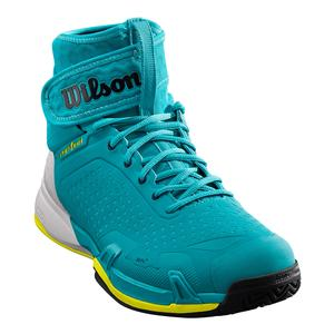 Unisex Amplifeel Tennis Shoes Bluebird and Safety Yellow