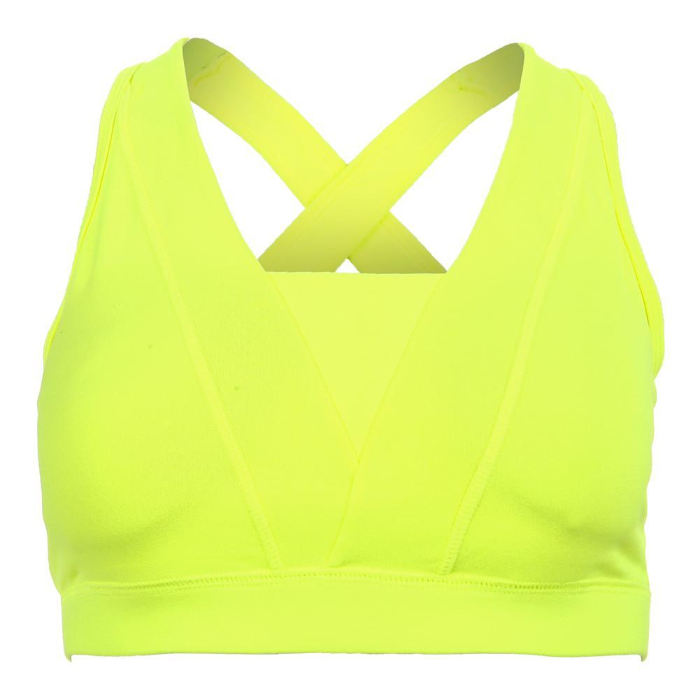 Women's Yoga Bra Green Neon