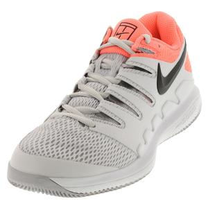 Women`s Air Zoom Vapor 10 Tennis Shoes Vast Gray and Black