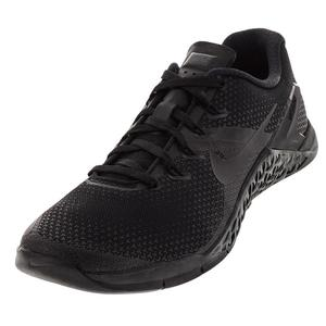 Men`s Metcon 4 Training Shoes Black and Hyper Crimson