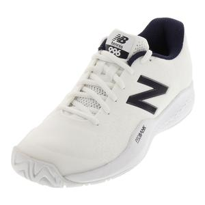 Men`s 996v3 D Width Tennis Shoes White