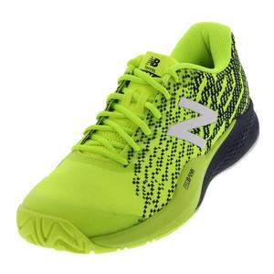 Men`s 996v3 2E Width Tennis Shoes Hi-Lite and Pigment