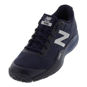 Men`s 996v3 D Width Tennis Shoes Pigment and Vintage Indigo