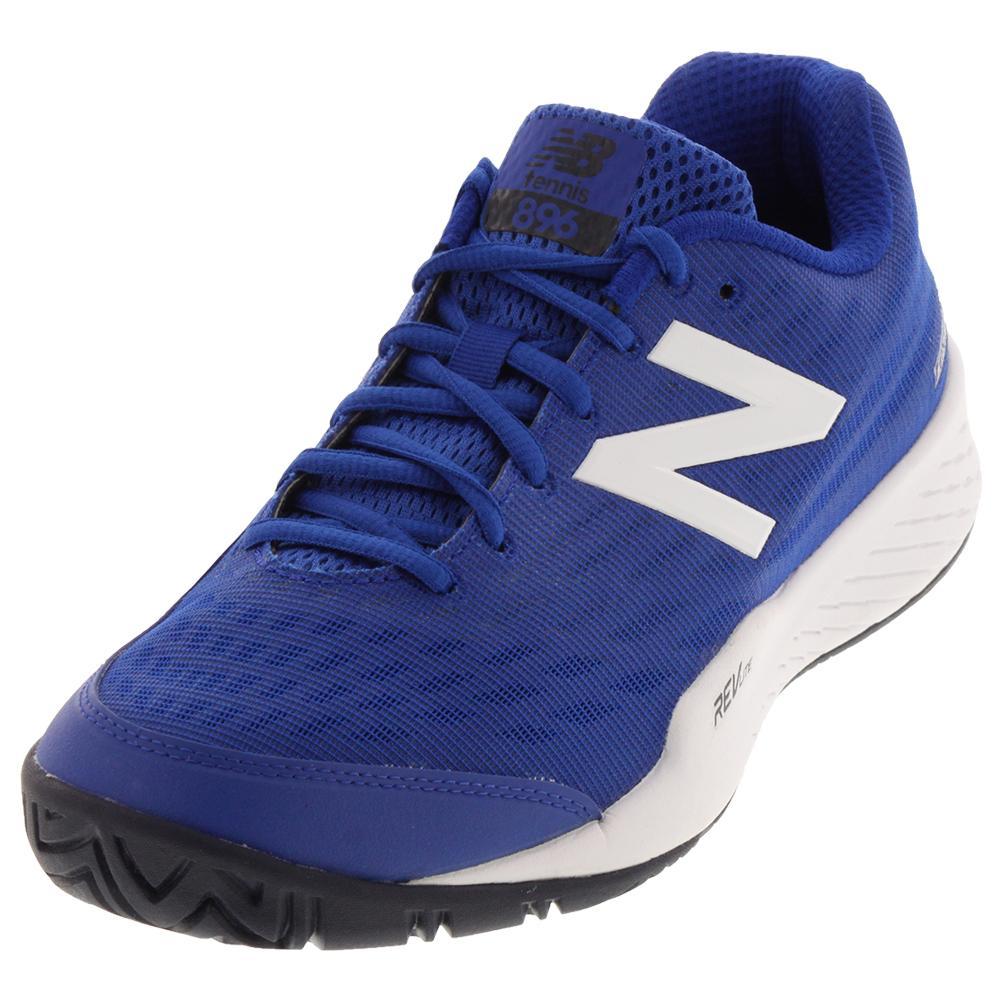 Men's 896v2 D Width Tennis Shoes Royal