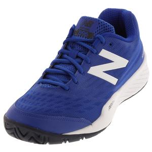 Men`s 896v2 D Width Tennis Shoes Royal