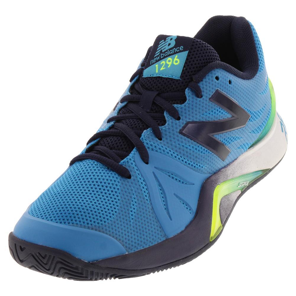 Men's 1296v2 D Width Tennis Shoes Maldives Blue And Pigment