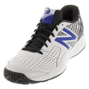 Men`s 696v3 D Width Tennis Shoes Phantom and Pacific