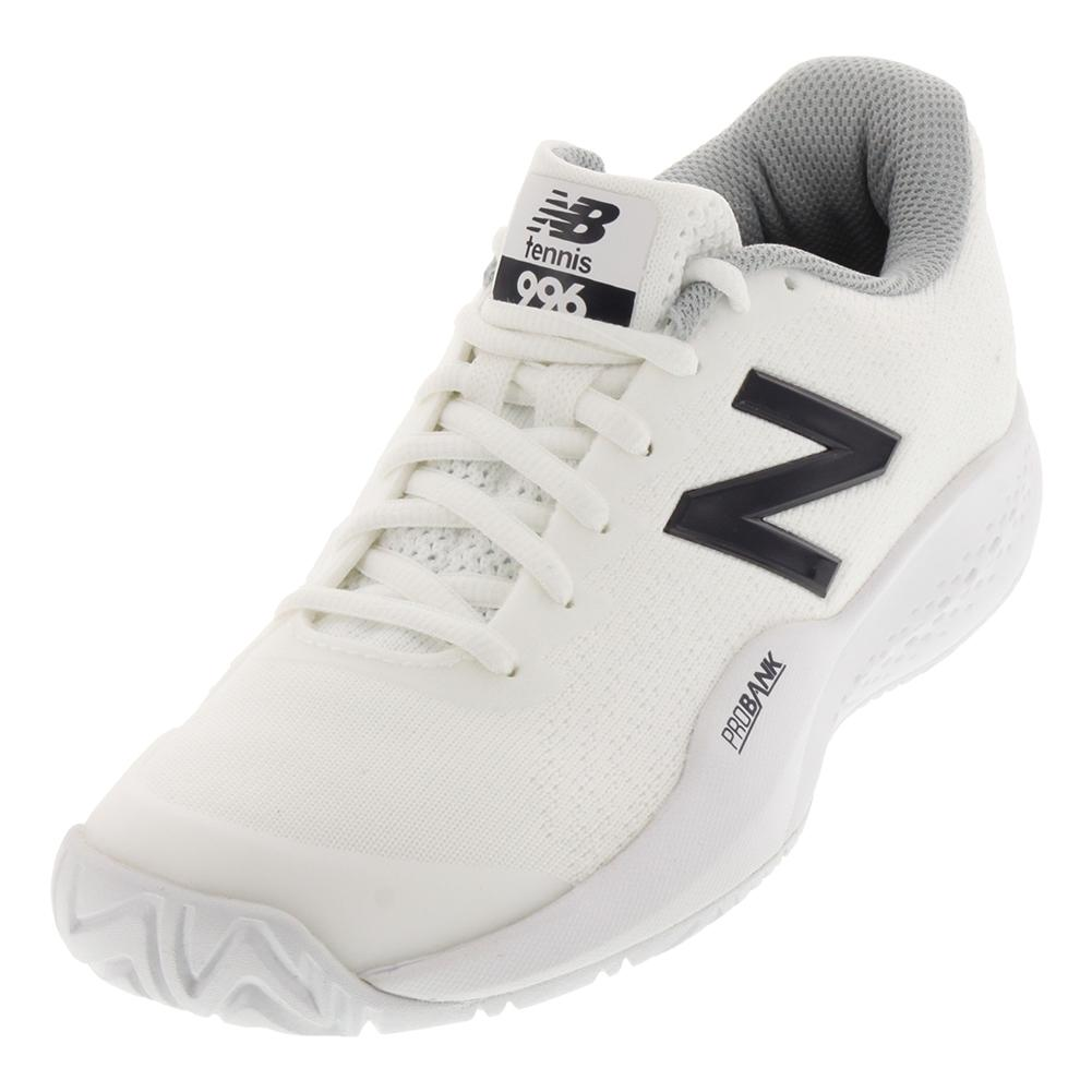 Women's 996v3 B Width Tennis Shoes White