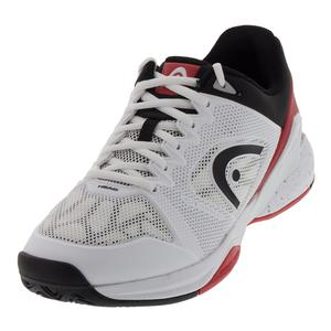Men`s Revolt Pro 2.5 Tennis Shoes White and Red