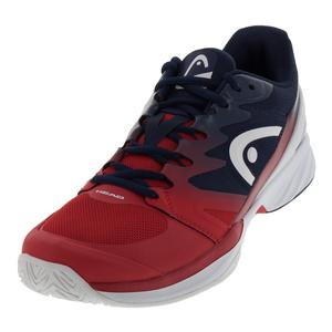 Men`s Sprint Pro 2.0 Tennis Shoes Red and Black Iris