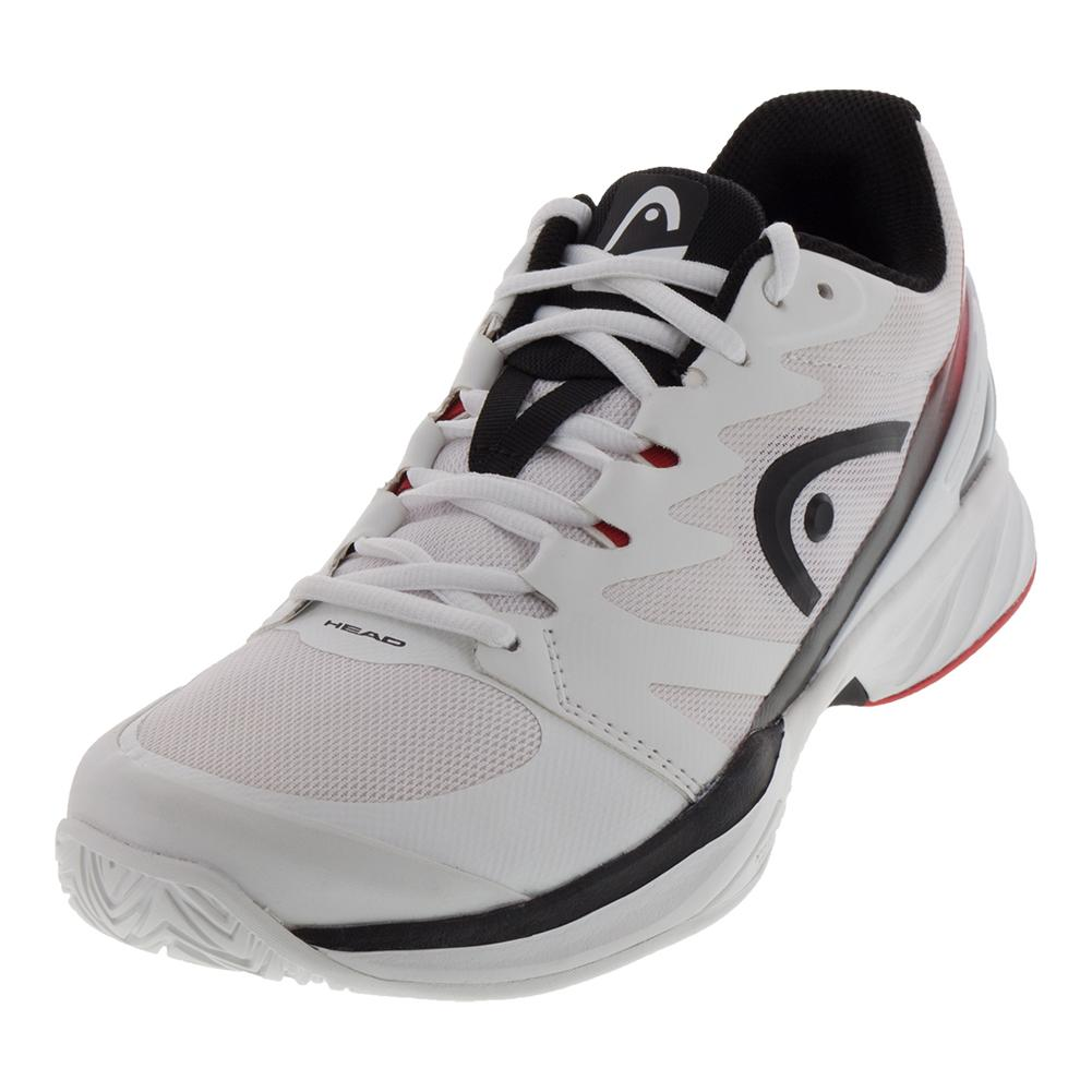 HEAD HEAD Men s Sprint Pro 2.0 Tennis Shoes White And Black 6c8142c2aa9