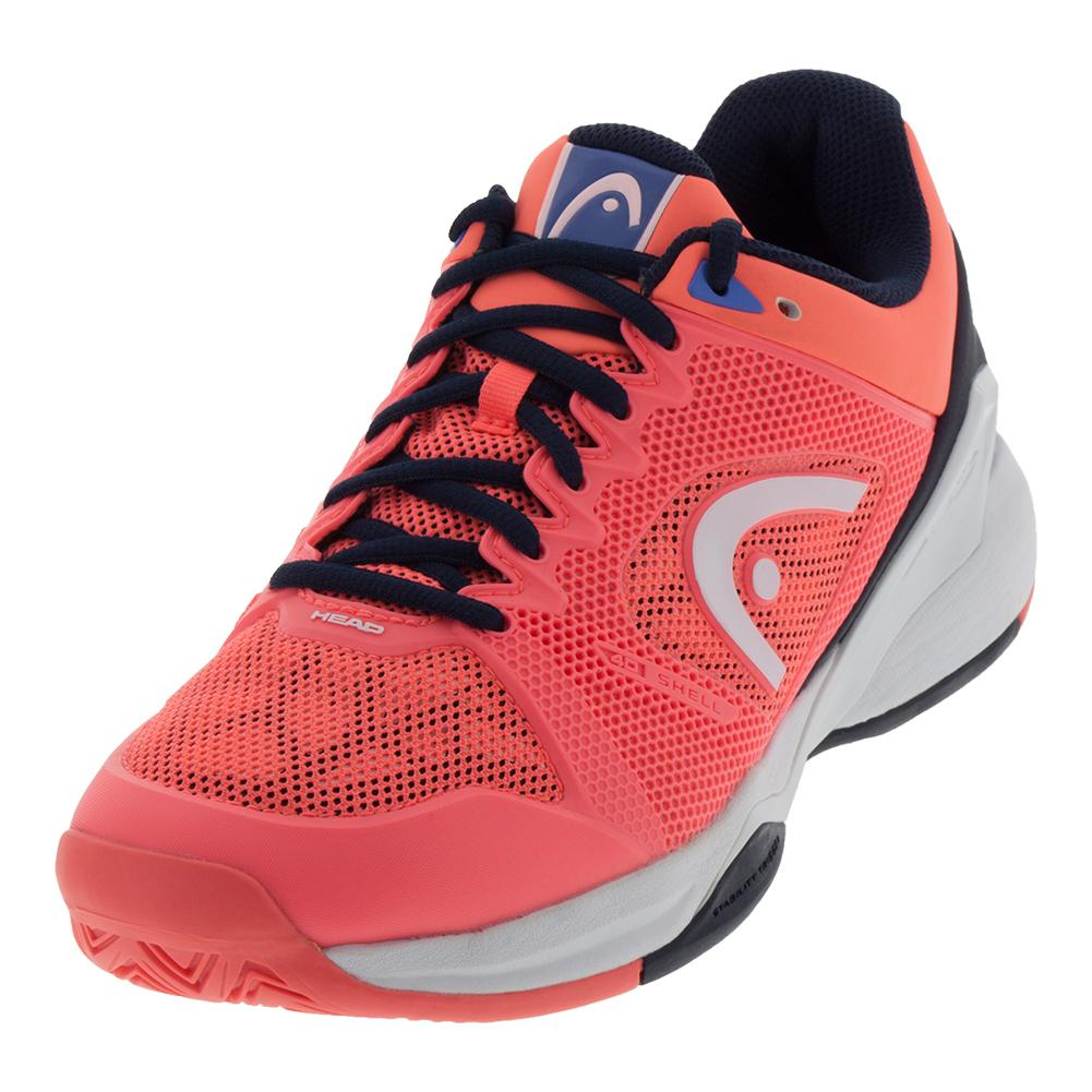 Women's Revolt Pro 2.5 Tennis Shoes Coral And Black Iris