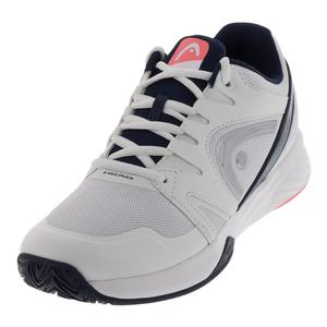 Women`s Sprint Team 2.0 Tennis Shoes White and Coral