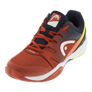 Juniors` Sprint 2.0 Tennis Shoes Red and Black Iris