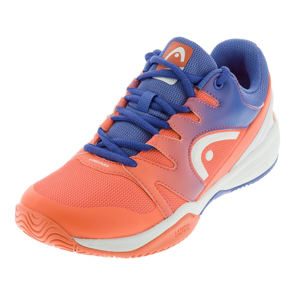 Juniors'sprint 2.0 Tennis Shoes Marine And Coral