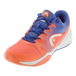 Juniors` Sprint 2.0 Tennis Shoes Marine and Coral