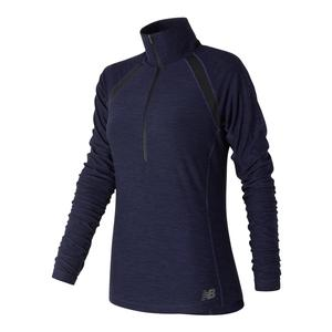 Women`s Anticipate Half Zip Tns Top Pigment Heather