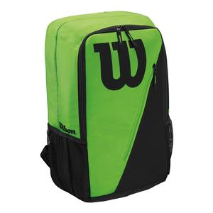 Match III Tennis Backpack Green and Black