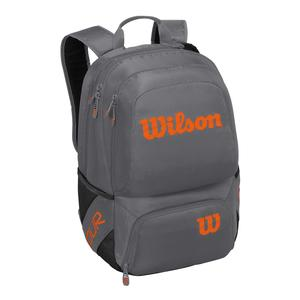 Tour V Medium Tennis Backpack Gray and Orange