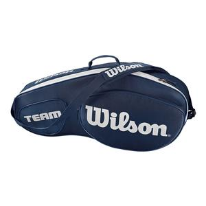 Team III 3 Pack Tennis Bag Blue and White
