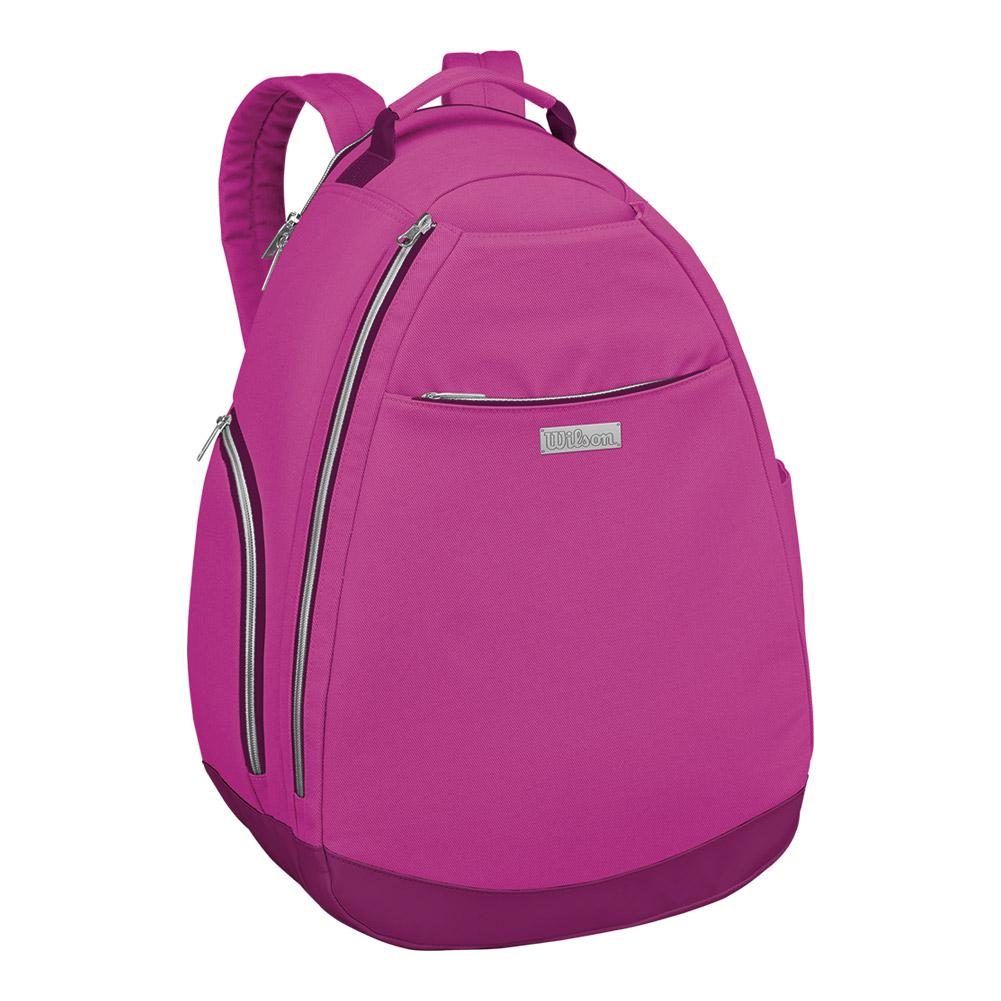 Women's Tennis Backpack Very Berry And Dark Purple