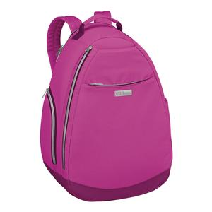 Women`s Tennis Backpack Very Berry and Dark Purple