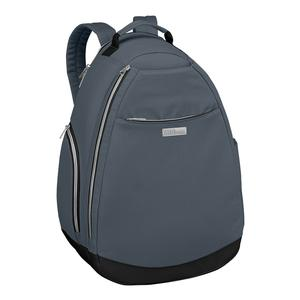 Women`s Tennis Backpack Gray and Black
