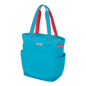 Women`s Tennis Tote Aqua and Coral