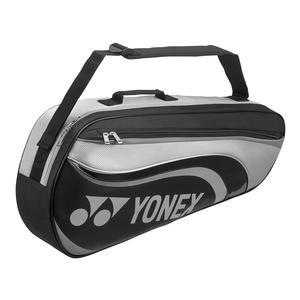 Active 3 Pack Tennis Bag Black and Gray