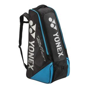 Pro Stand Tennis Bag Black and Infinite Blue