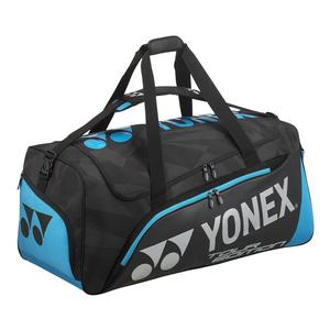 Pro Tour Travel Tennis Bag Black and Blue