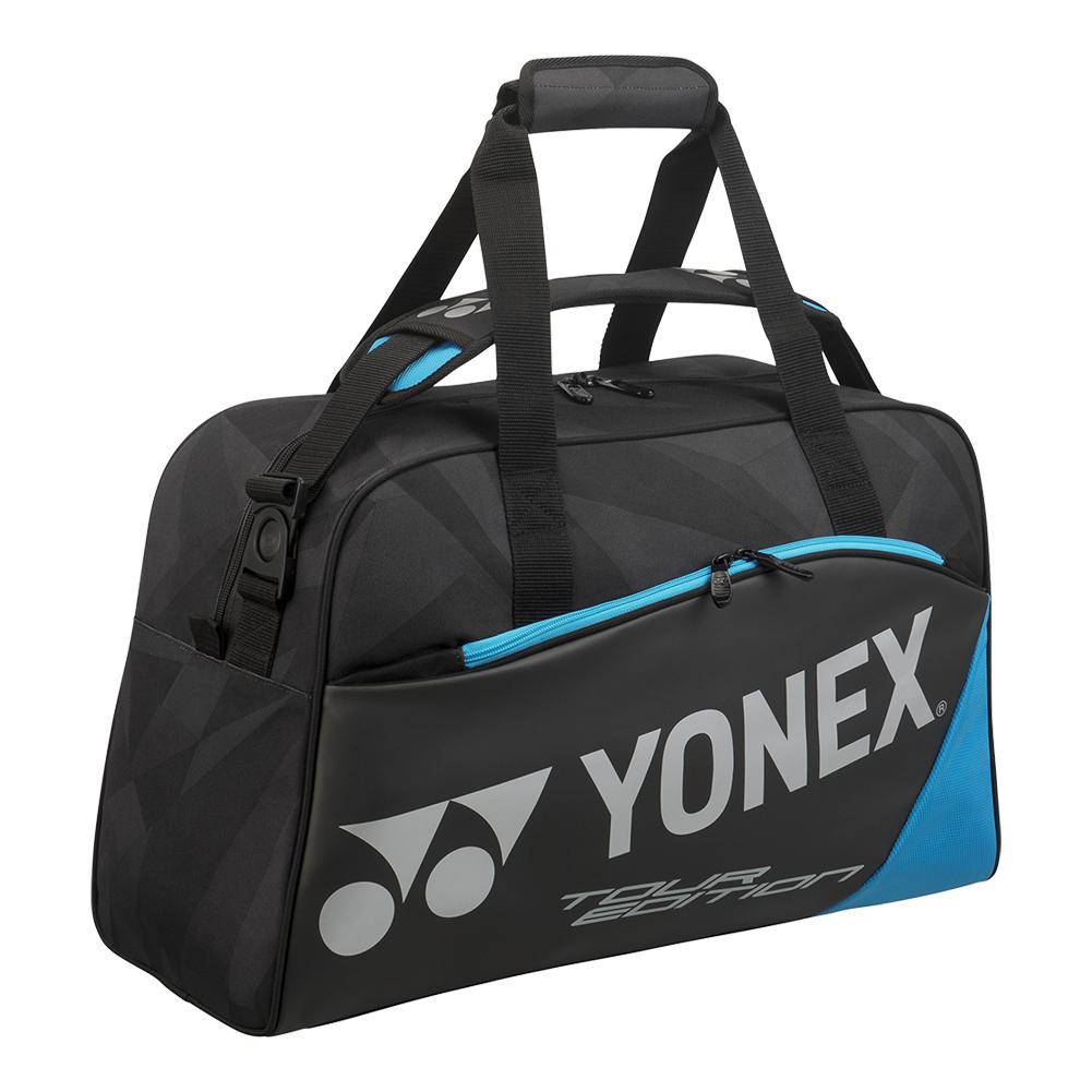 Pro Medium Boston Tennis Bag Black And Blue