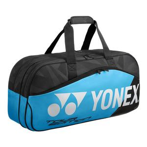 Pro Tournament Tennis Bag Black and Blue