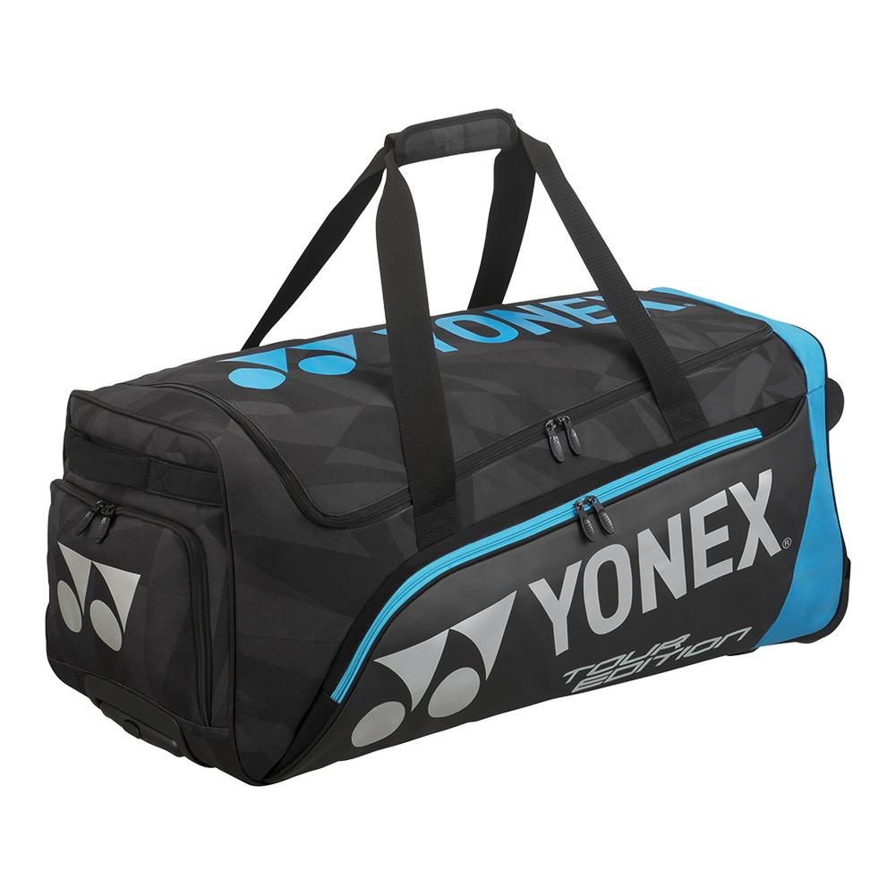 Pro Trolley Tennis Bag Black And Blue
