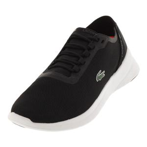 Men`s Lt Fit 118 Tennis Shoes Black and Dark Gray