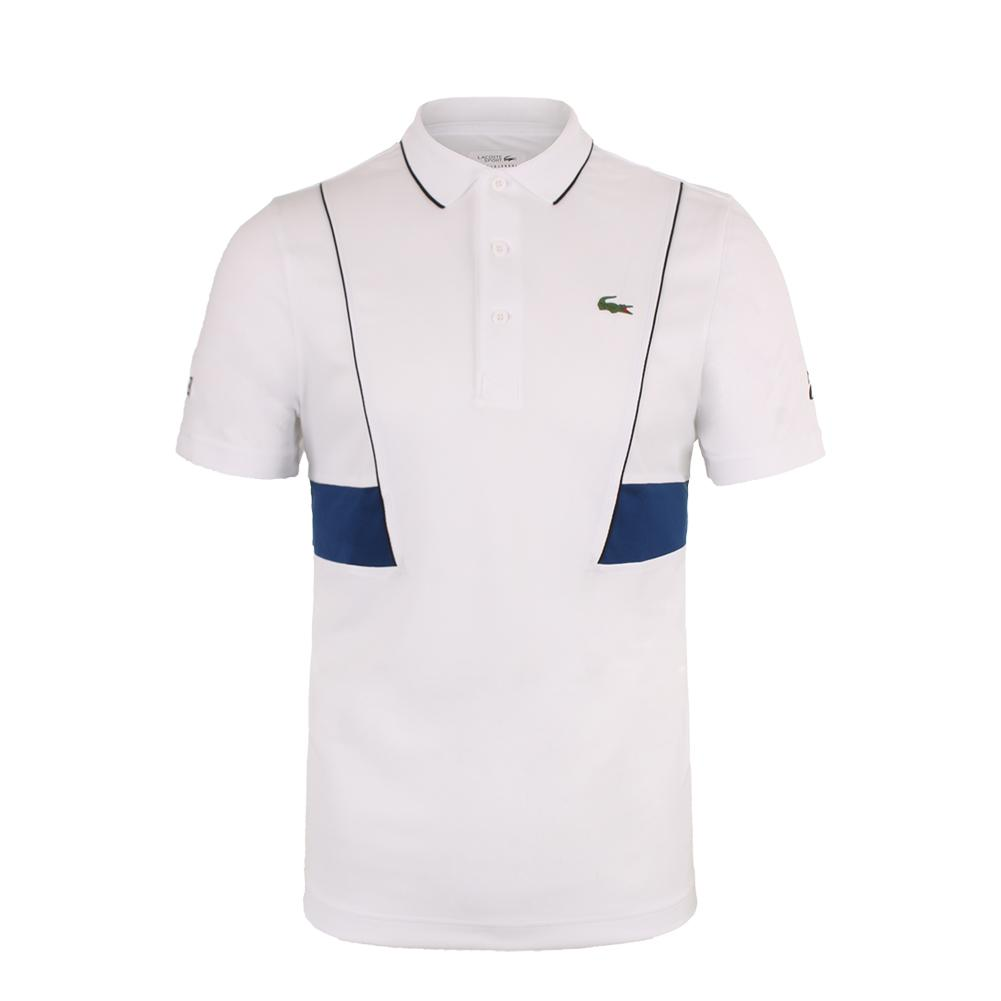 93d1c86f Men`s Pique Ultra Dry Tennis Polo JRL_WHITE/MARINO