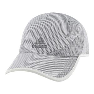 Men`s Superlite Prime Tennis Cap White and Gray