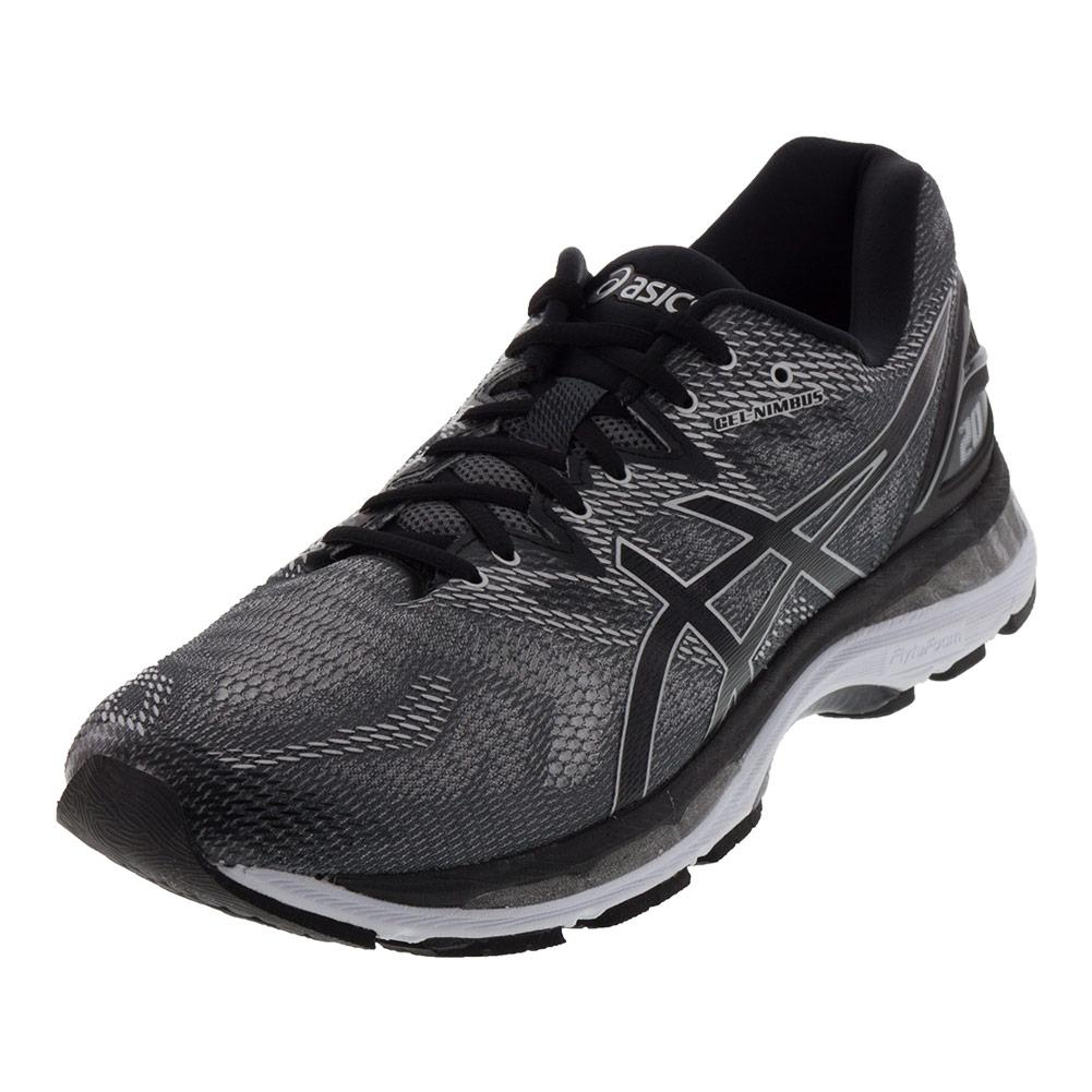 Men's Gel- Nimbus 20 Running Shoes Carbon And Black