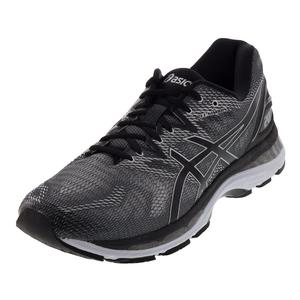 Men`s Gel-Nimbus 20 Running Shoes Carbon and Black