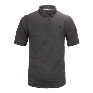 Men`s Zim Tennis Polo Heather Black