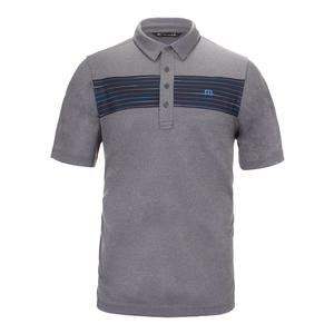 Men`s Triple Switch Tennis Polo Lunar Rock and Castlerock